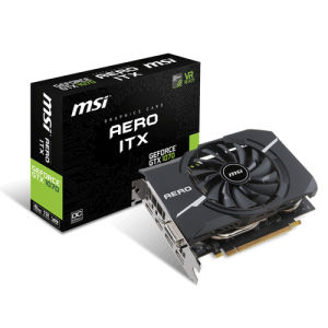 MSI GeForce GTX 1070 Aero ITX 8GB OC