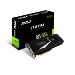 MSI GeForce GTX 1070 Ti Aero 8GB
