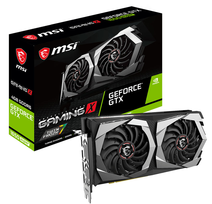 MSI GeForce GTX 1650 SUPER Gaming X 4GB