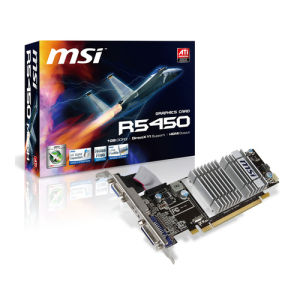 MSI Radeon HD5450 1GB (R5450-MD1GD3H/LP)