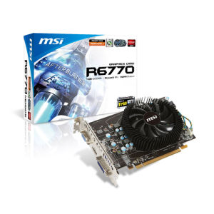 MSI Radeon HD6770 1GB (R6770-MD1GD5)