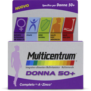 Multicentrum Donna 50+ 90compresse