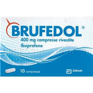 Mylan Brufedol 10 compresse rivestite 400mg