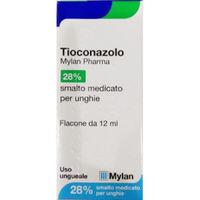 Mylan Tioconazolo 28% smalto medicato 12ml