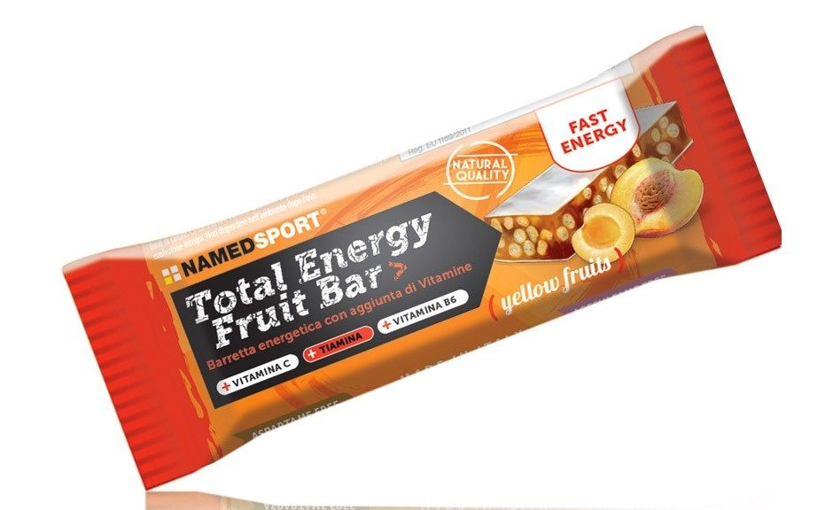 Named Sport Total Energy Fruit Bar 35g Yellow Fruits