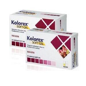 Named kolorex soft gel 60capsule