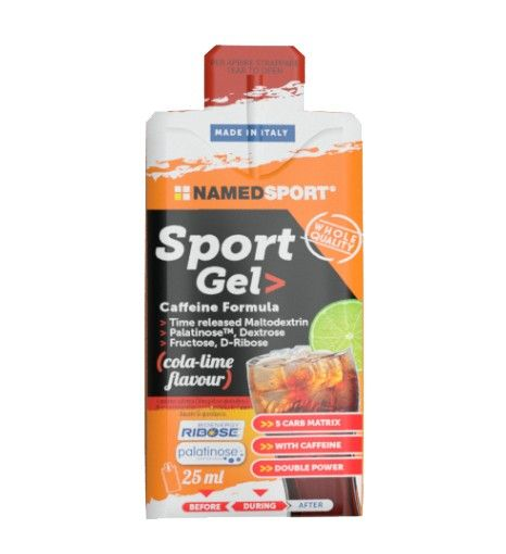 Named Sport Sport Gel 25ml Cola Lime