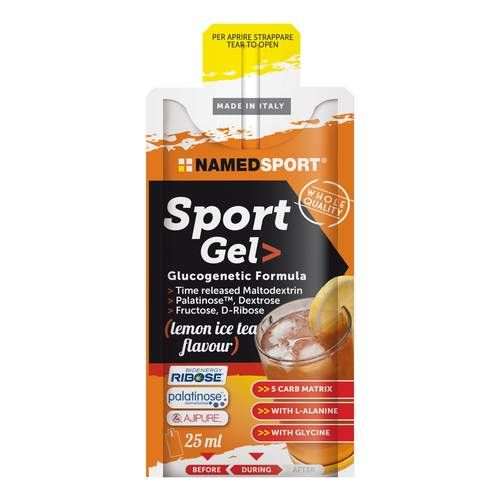 Named Sport Sport Gel 25ml Lemon Ice Tea