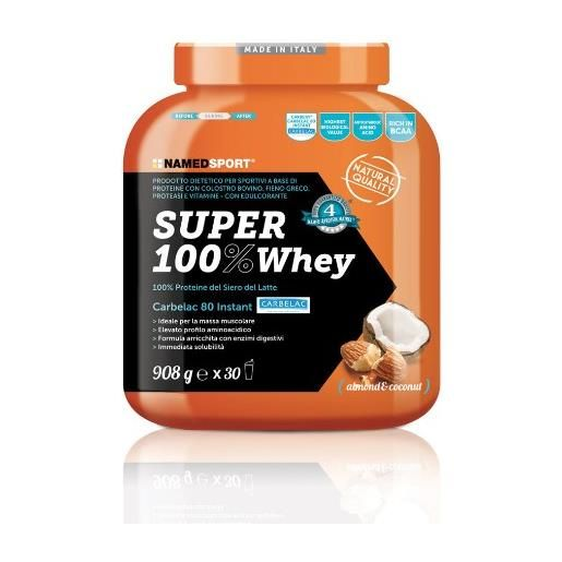 Named Sport Super 100% Whey 908g Almond & Coconut