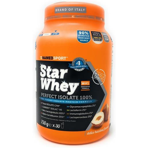 Named Sport Star Whey Isolate 750g Nocciola