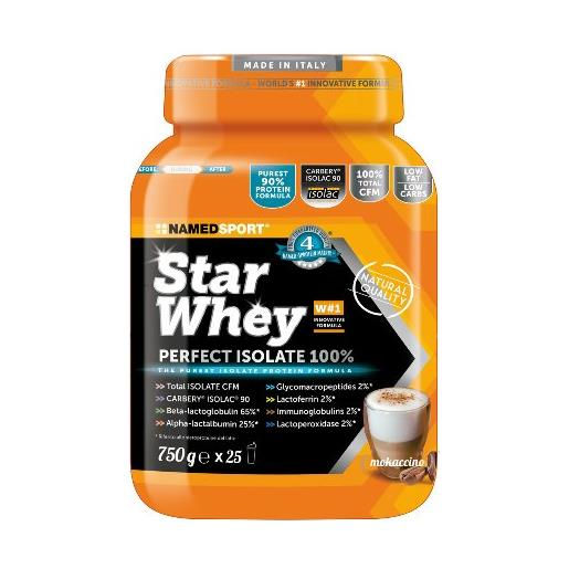 Named Sport Star Whey Isolate 750g Mokaccino Cream
