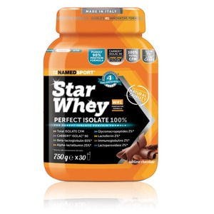 Named Sport Star Whey Isolate 750g Chocolate