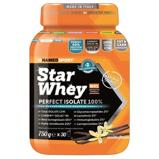Named Star Whey Perfect Isolate 100% Vanilla 750g