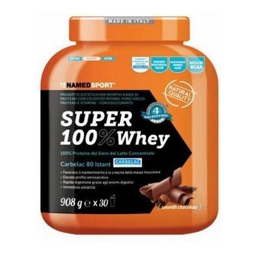 Named Sport Super 100% Whey 908g Smooth Chocolate