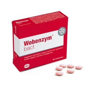 Named Wobenzym Bact 60compresse