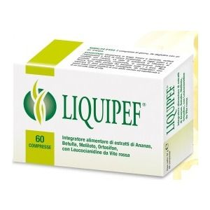 Natural Bradel Liquipef 60compresse