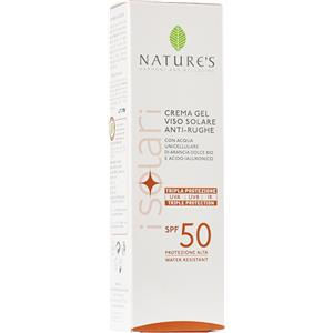 Nature's Crema-Gel Viso Antirughe SPF50