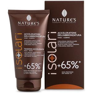 Nature's I solari Crema Acceleratore Abbronzatura +65% 150ml
