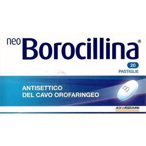 Alfasigma Neoborocillina 20 pastiglie 1,2+20mg