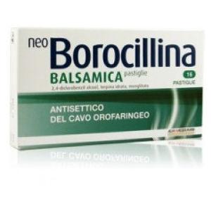 Alfasigma Neoborocillina balsamica 16 pastiglie