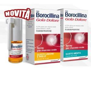neoborocillina gola dolore spray