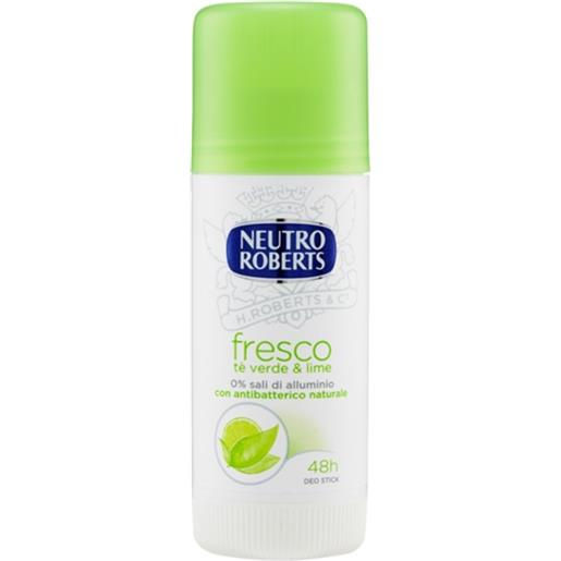 Neutro Roberts Fresco Te' Verde e Lime Deodorante Stick 40ml