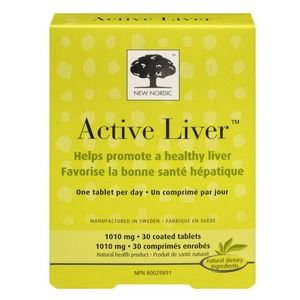 New Nordic Active Liver 30compresse