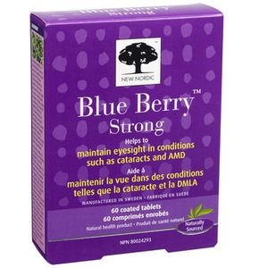 New Nordic Blue Berry 120compresse