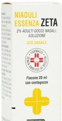 Zeta Farmaceutici Niaouli essenza gocce 2% 20ml