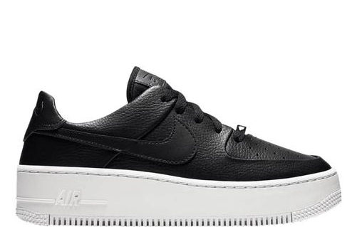 air force 1 platform bianche