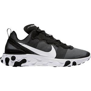 Nike React Element 55 Sneakers Donna Nera e Bianca | Urban