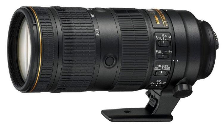 Nikon 70-200mm f/2.8 G ED-IF AF-S VR