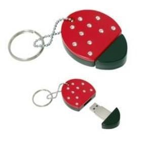 Nilox Swarovsky Pen Drive 1 GB Lady Bug