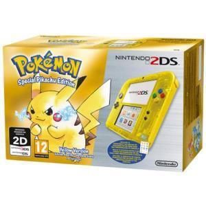 Nintendo 2ds special pikachu edition