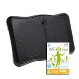 Nintendo Wii Fit Plus + Balance Board (nera)