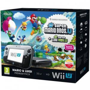 Nintendo wii u 32 gb mario luigi premium pack