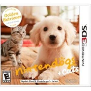Nintendo Nintendogs + Cats Golden Retriever & New Friends