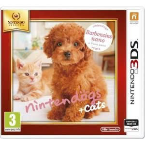 Nintendo Nintendogs + Cats Toy Poodle & New Friends