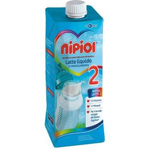 Nipiol 2 latte liquido 500ml