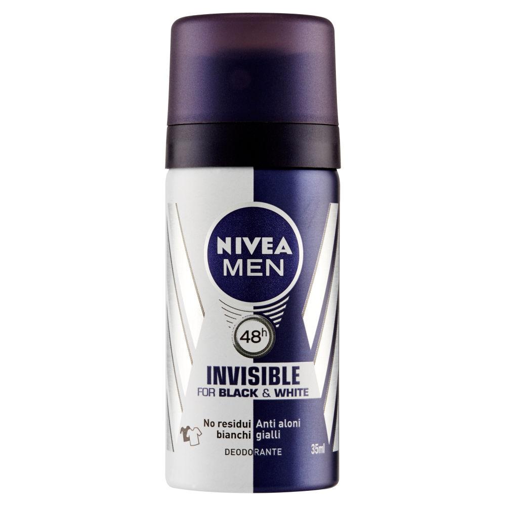 Nivea Men Invisible Black & White Deodorante Spray 35ml
