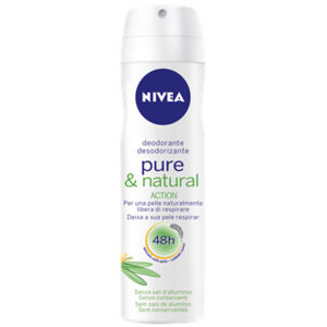 Nivea Pure & Natural Deodorante Spray