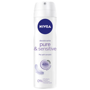 Nivea Pure & Sensitive Deodorante Spray