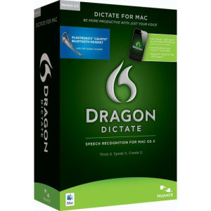 Nuance Dragon Dictate wireless 2.5 (EDU)