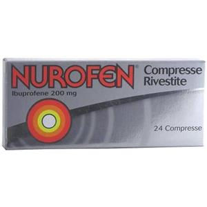 Reckitt Benckiser Nurofen 24 compresse rivestite 200mg