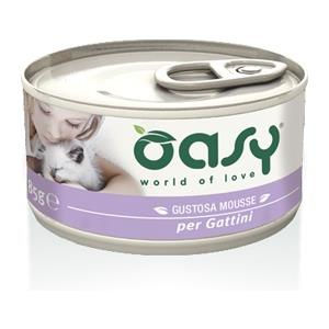 Oasy Kitten Mousse Gattini - umido