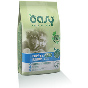 Oasy Puppy & Junior Large Pollo