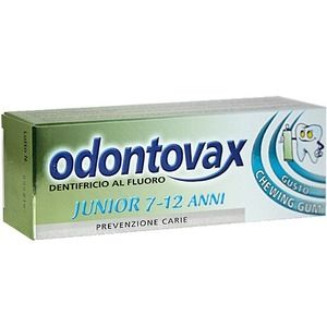Odontovax Dentifricio Junior 7-12 anni