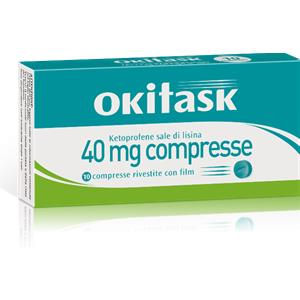 Dompé Okitask 10 compresse rivestite 40mg
