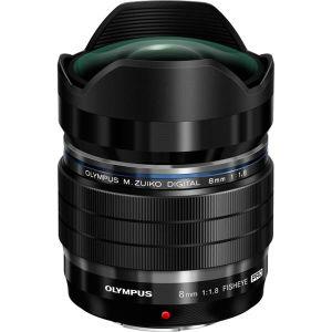 Olympus M.Zuiko Digital 8mm f/1.8 ED Fisheye Pro - 4/3