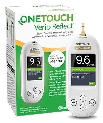 One Touch Glucometro Verio Reflect